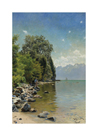 Lac Léman by Peder Mork Monsted