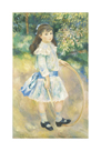 Girl with a Hoop, 1885 by Pierre Auguste Renoir