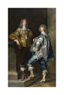 Lord John Stuart and his Brother, Lord Bernard Stuart by Anthony Van Dyck