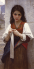Tricoteuse by William Adolphe Bouguereau