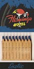Flamingo Hotel Matchbook by Kristine Hegre
