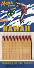 Aloha From Hawaii Matchbook by Kristine Hegre