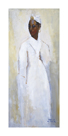 White Dress Black Girl by Boscoe Holder