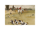 The Fallowfield Hunt, Full Cry by Cecil Aldin