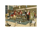 The Fallowfield Hunt, The Hunt Supper by Cecil Aldin