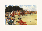 The Bluemarket Races - The Start by Cecil Aldin