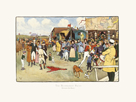 The Bluemarket Races - Between the Races by Cecil Aldin
