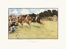 The Bluemarket Races - The Finish by Cecil Aldin