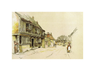 Old English Inns, Star Inn, Alfriston by Cecil Aldin