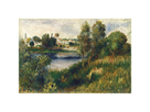 Landscape at Vetheuil by Pierre Auguste Renoir
