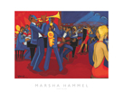 Jazz Club by Marsha Hammel