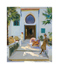 My Studio Door, Tangier by Sir John Lavery