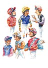 Jockeys by Peter Curling