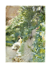 In Alhambra Park, 1887 by Anders Zorn