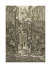 View of the Chapel in the Garden at Strawberry Hill by William Pars