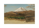 Study of Mount Chimborazo, Ecaudor by Frederic Edwin Church