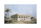 The Chaunsath Khamba, Nizamuddin by Thomas and William Daniell