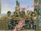 Roses of Heliogabalus, 1888 - Abridged by Sir Lawrence Alma-Tadema