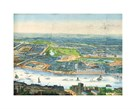 Panorama Of London And The River I by The Vintage Collection