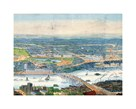 Panorama Of London And The River II by The Vintage Collection