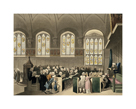 Court of Chancery, Lincoln's Inn Hall by Thomas Rowlandson