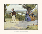Mr Tupman on Richmond Hill by Cecil Aldin