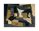 The Coffee Grinder by Juan Gris