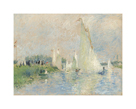 Regatta at Argenteuil, 1874 by Pierre Auguste Renoir