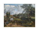 Flatford Mill (Scene on a Navigable River) by John Constable