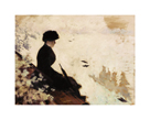Snow Effect, 1880 by Giuseppe De Nittis