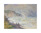Heavy Sea at Pourville, 1897 by Claude Monet