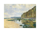 Low Tide at Varengeville, 1882 by Claude Monet