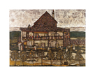 House with Shingles, 1915 by Egon Schiele