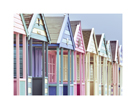 Summer Beach Huts in Focus by Assaf Frank