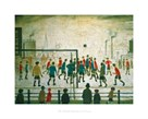 The Football Match by L.S. Lowry