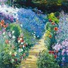 Monet's Garden by Malva