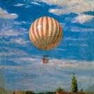 Hot Air Balloon by Pal Szinyei Merse