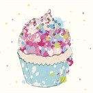 Candy Cupcake I by Clara Wells