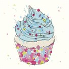 Candy Cupcake II by Clara Wells