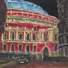 Late Night Performance, Royal Albert Hall, London by Susan Brown