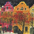Gable Ends, Brussels by Susan Brown