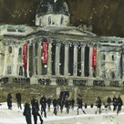 From Trafalgar Square, Facade the National