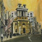 St Mary Woolnoth, The City London by Susan Brown