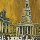 Church on the Square, London by Susan Brown
