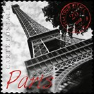 Paris Stamp by The Vintage Collection