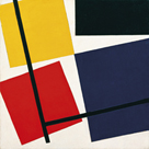 Simultaneous Counter-Composition, 1929-30 by Theo Van Doesburg