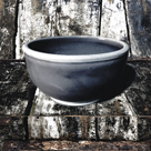 Ceramic Grey Bowl by Malcolm Sanders