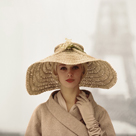 Girl with Straw Hat by The Chelsea Collection
