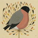 Bullfinch by Catriona Hall