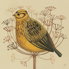Yellowhammer by Catriona Hall